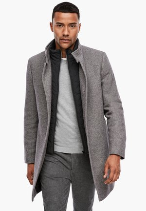 STEHKRAGEN - Short coat - grey melange