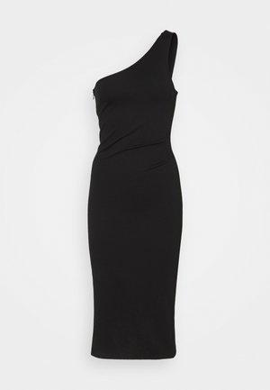 POLLY DRESS - Jersey dress - black