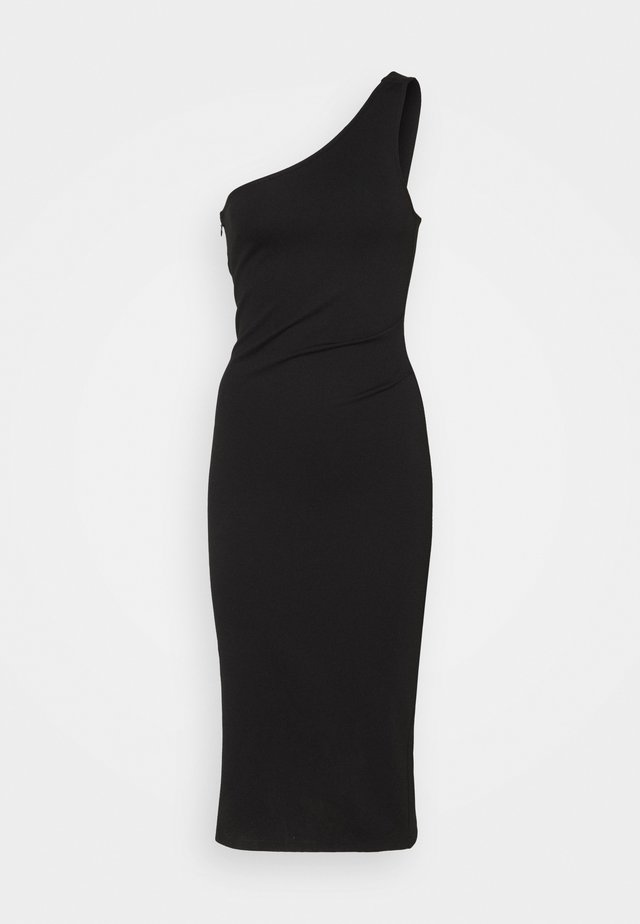POLLY DRESS - Jersey dress - black