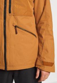 O'Neill - UTLTY JACKET - Snowboard jacket - glazed ginger - 5