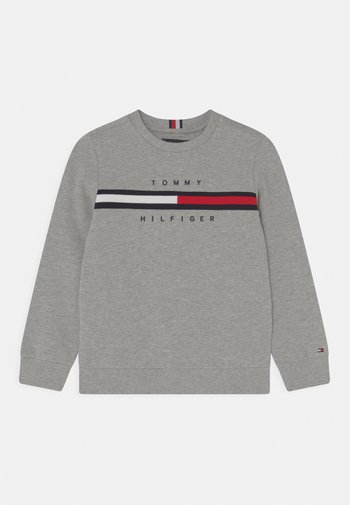 FLAG INSERT  - Felpa - light grey heather