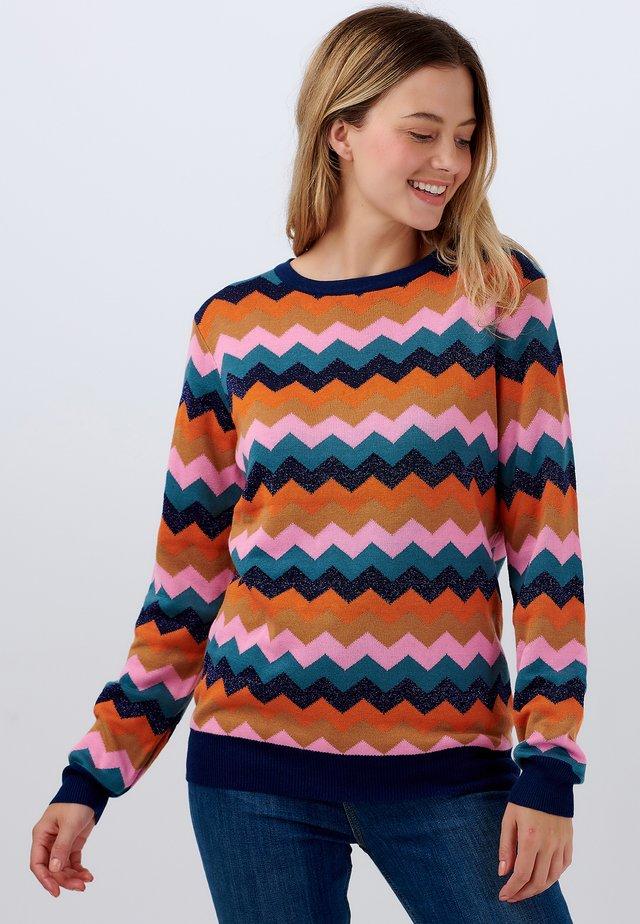 SWEATER RITA POLAROID ZIG ZAG - Sweater - multi