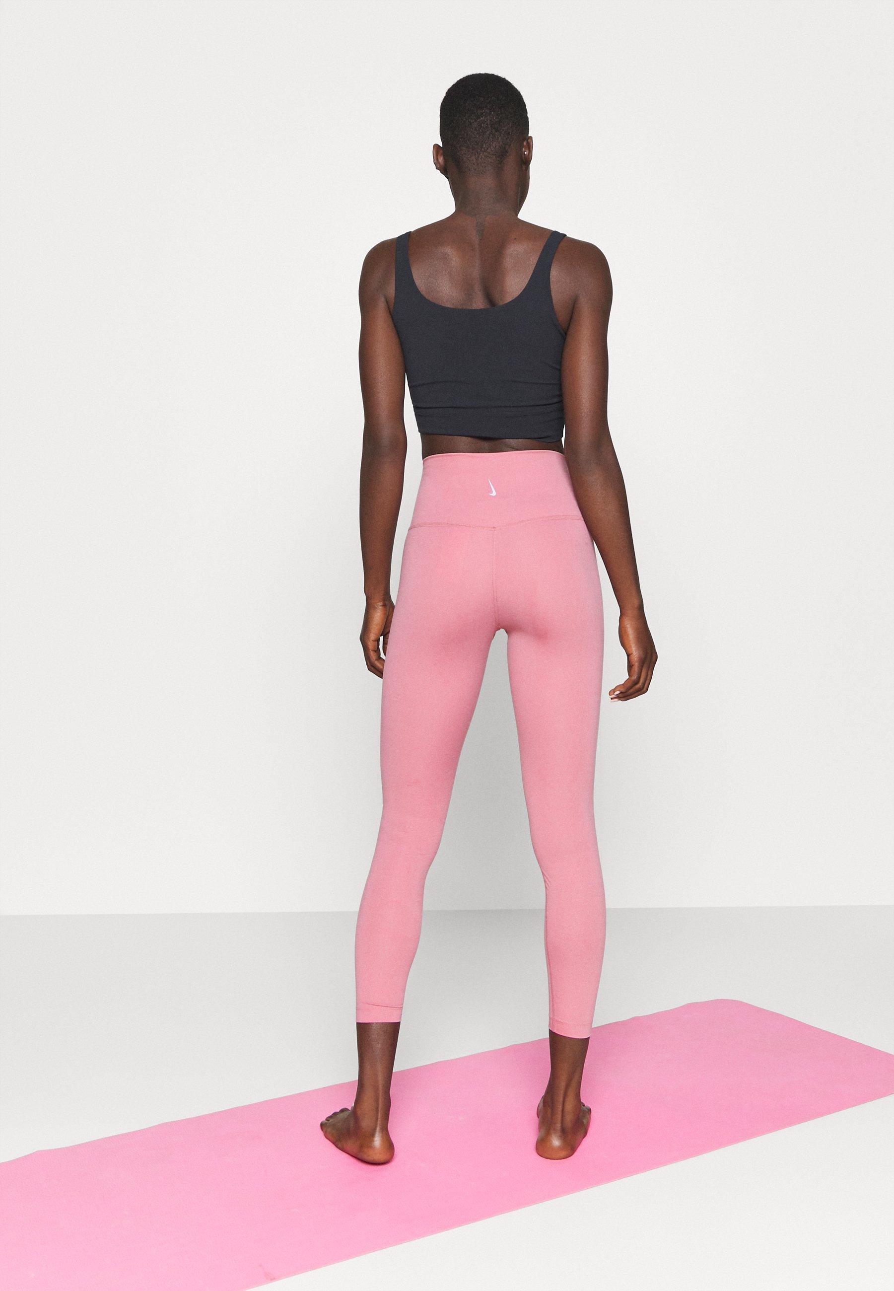 Nike Performance THE YOGA 7/8 - Leggings - desert berry/heather/light arctic pink 0Ndxc