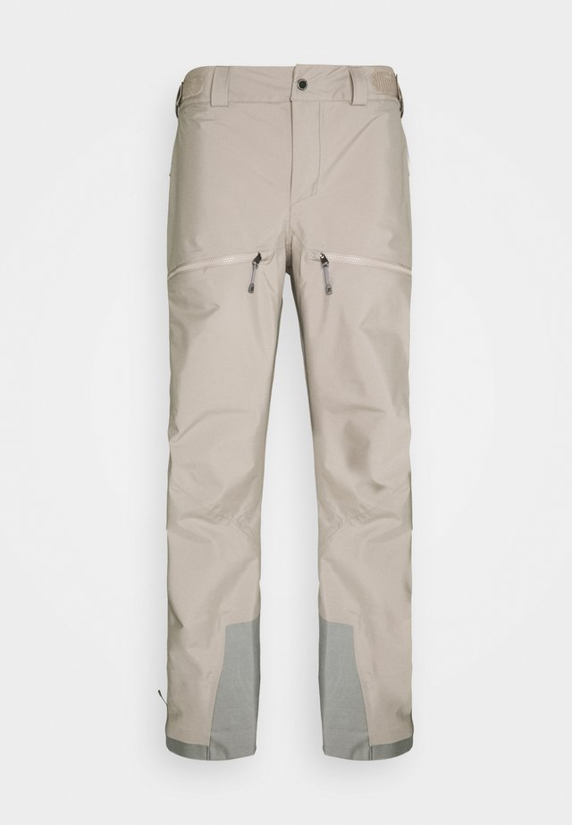 PURPOSE PANTS - Snow pants - sandstorm