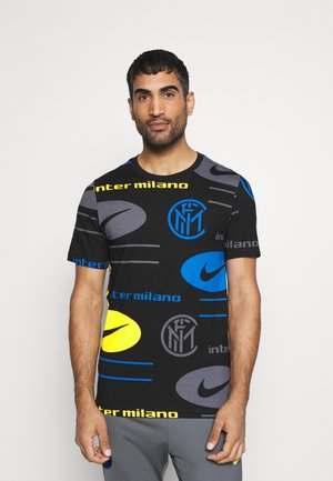 INTER MAILAND TEE TRAVEL - Klubtrøjer - black