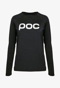 POC - ESSENTIAL  - Langærmede T-shirts - uranium black - 3