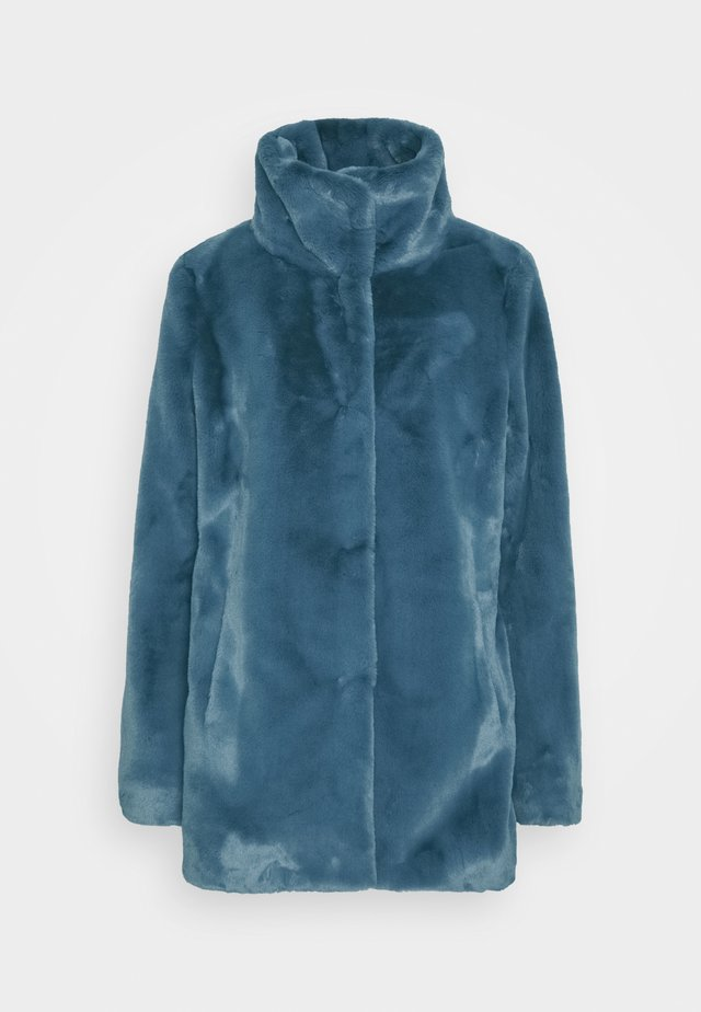 Halflange jas - bleue