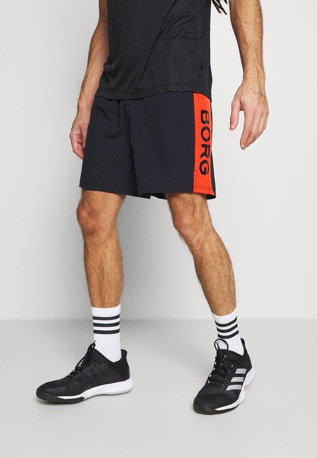 AMOVE SHORTS - Sports shorts - black beauty