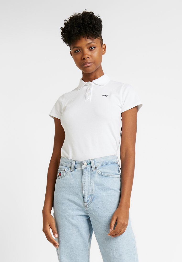 Hollister Co. - SHORT SLEEVE CORE - Polo shirt - white