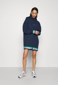 Tommy Jeans - BRANDED - Day dress - twilight navy - 1