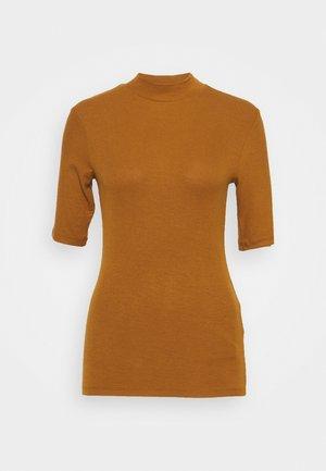 KROWN - Basic T-shirt - brown oak
