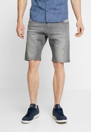 REGULAR FIT  - Jeans Shorts - grey highway