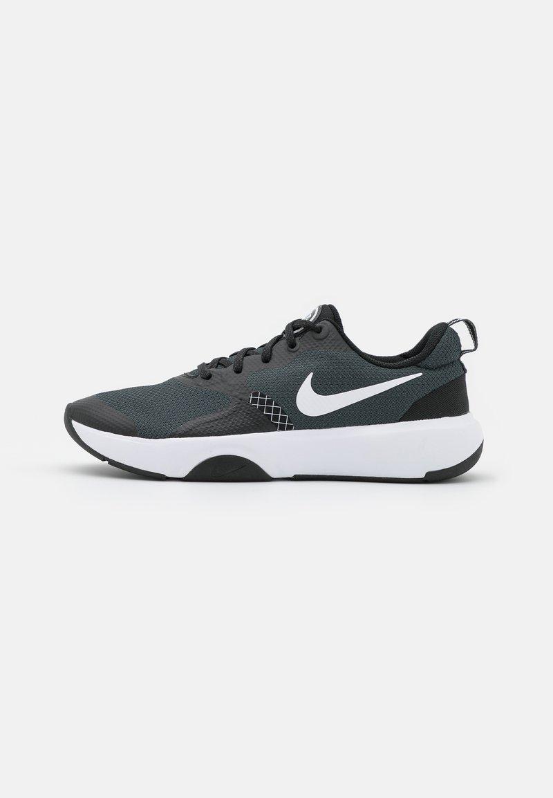 Nike Performance - CITY REP TR - Sports shoes - black/white/dark smoke grey