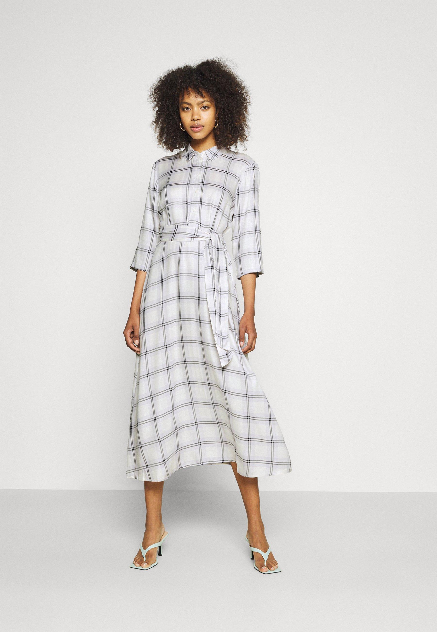 Women JDYSTAY MIDCALF DRESS - Shirt dress
