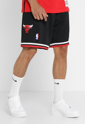 NBA CHICAGO BULLS SWINGMAN SHORT - Korte broeken - black