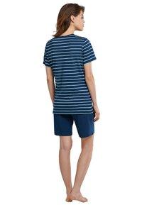 Schiesser - Pyjama set - blue - 1