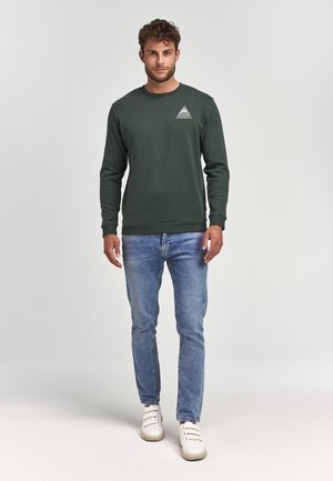 Long sleeved top - cilantro green