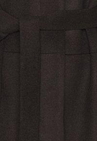 Tiger of Sweden - CORI - Klasický kabát - dark chokolate - 2