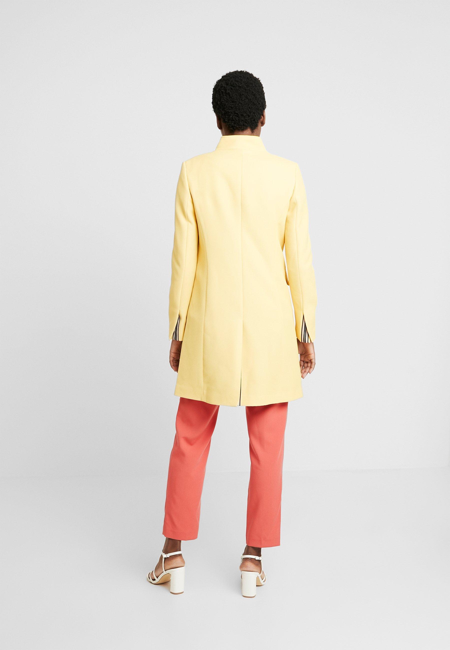 Esprit PIQUET - Manteau court - yellow - Manteaux Femme lCJii