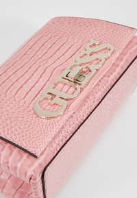 Guess - UPTOWN CHIC MINI XBODY FLAP - Across body bag - pink - 2