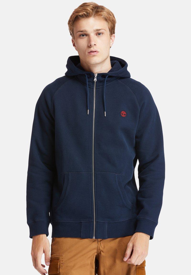 Timberland - EXETER RIVER FULL ZIP - Zip-up hoodie - dark sapphire