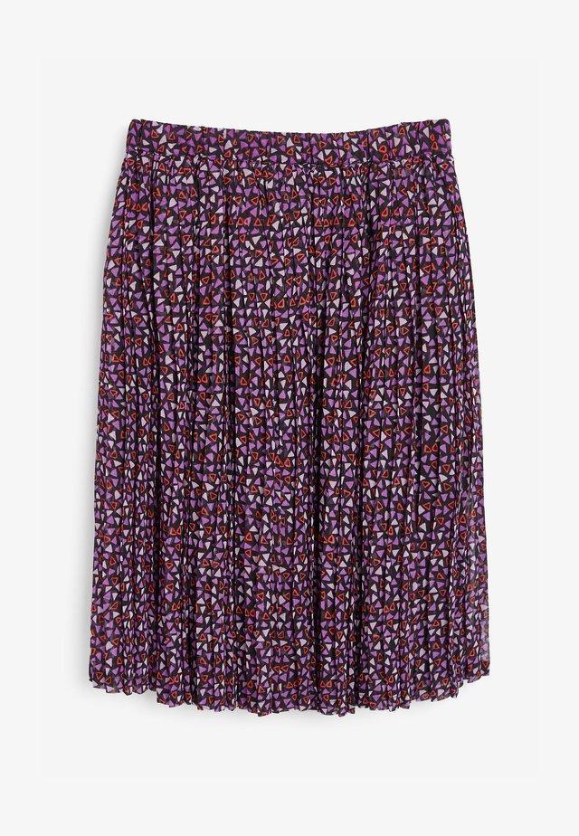 Jupe plissée - purple