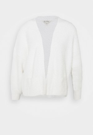 SHORT LASH EDGE TO EDGE - Cardigan - cream