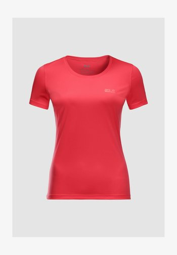 TECH - Basic T-shirt - tulip red