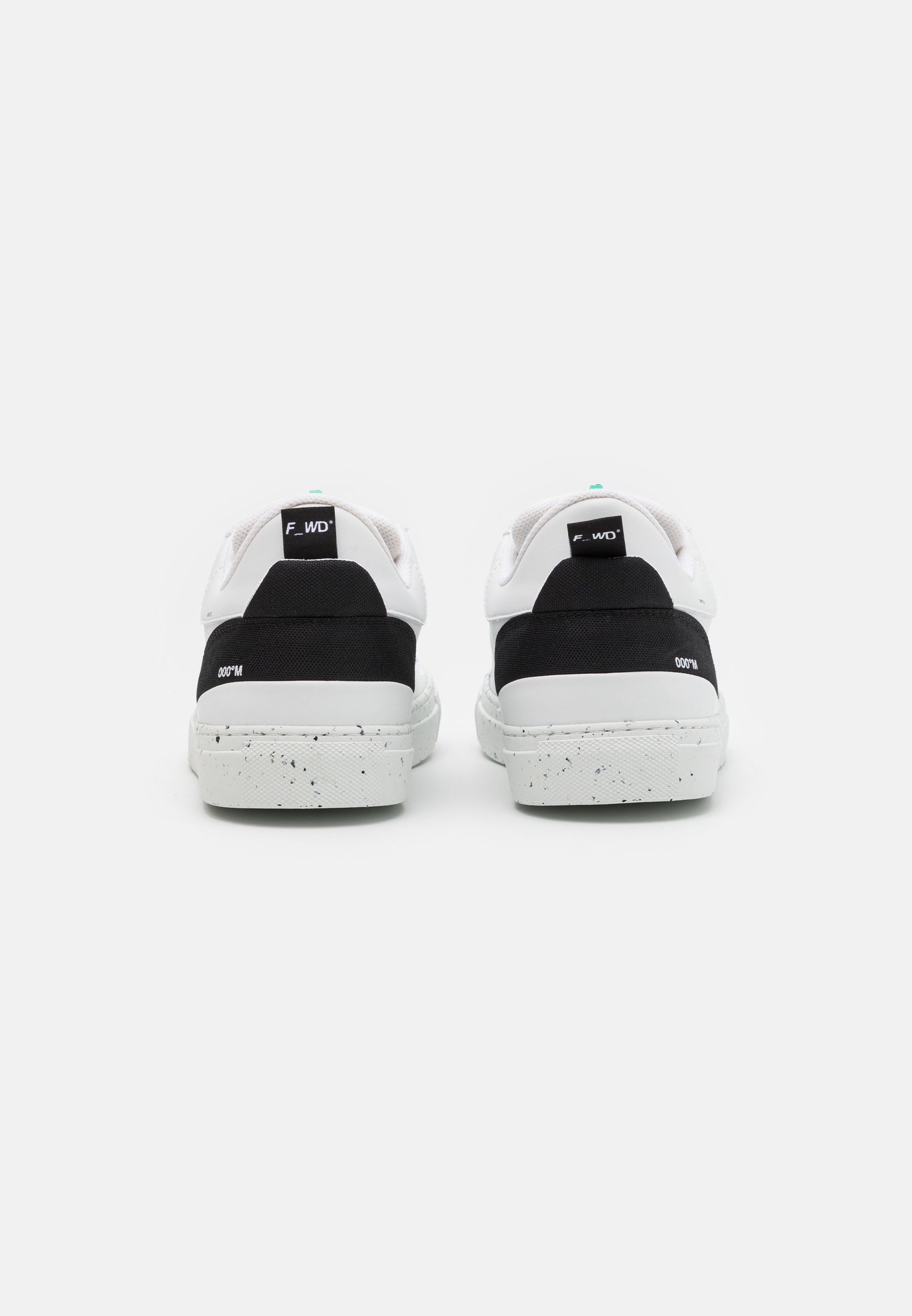 F_WD Sneaker low - white/ecogreen black/weiß - Herrenschuhe uB0PC