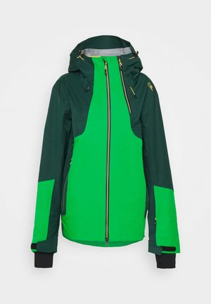 MAN JACKET HOOD - Skijacke - green