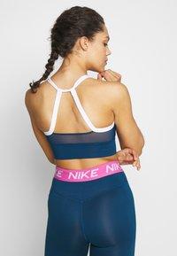 Nike Performance - Reggiseno sportivo - valerian blue/white - 2