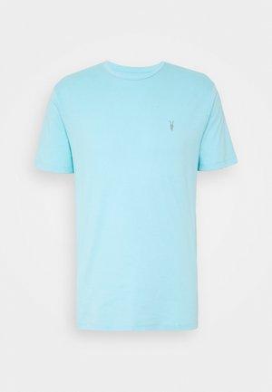 BRACE TONIC CREW - Basic T-shirt - hawaii blue