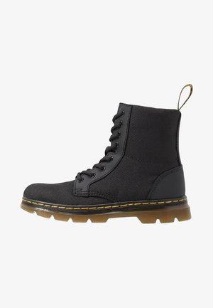 COMBS - Šněrovací kotníkové boty - black
