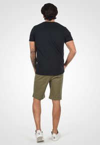 Solid - Jeansshort - dusty olive - 2