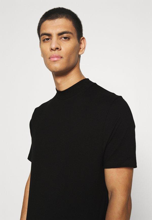 Topman TURTLE 2 PACK - T-shirt basic - black/czarny Odzież Męska ZQID