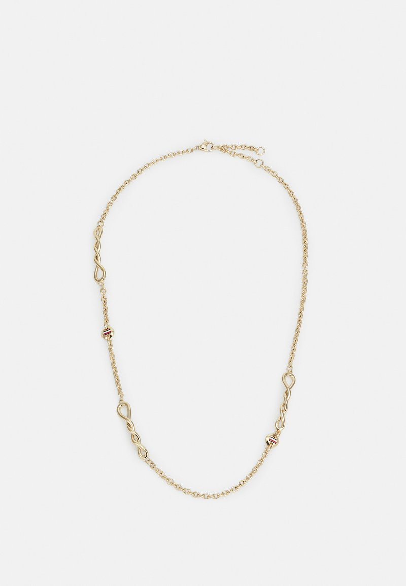 Tommy Hilfiger - TWISTED - Necklace - gold-coloured