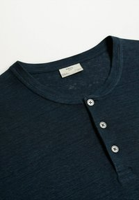 Mango - Jednoduché triko - bleu marine - 7