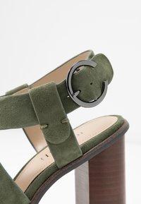 Minelli - High heeled sandals - kaki - 2