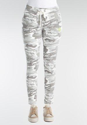Tracksuit bottoms - grey camo
