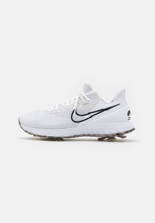 AIR ZOOM INFINITY TOUR - Golfskor - white/black/platinum tint/volt