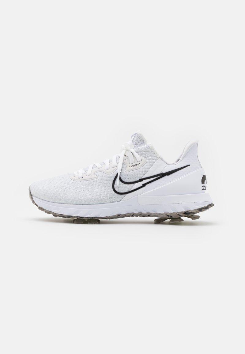 Nike Golf - AIR ZOOM INFINITY TOUR - Golfskor - white/black/platinum tint/volt