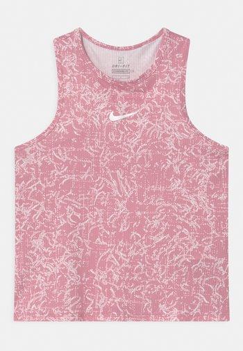 Top - elemental pink/white