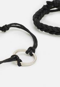 Burton Menswear London - MIXED ADJUSTER 3 PACK - Bracciale - black - 2