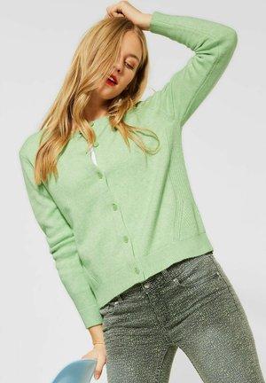 KUSCHELIGE - Cardigan - grün