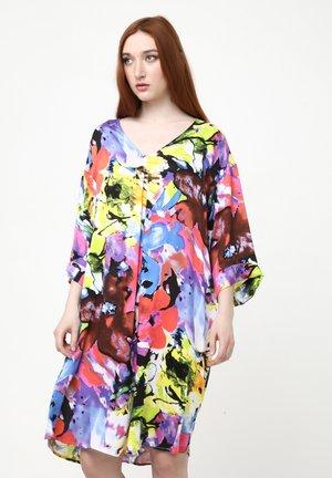 AMPERO - Day dress - lila  hellgrün