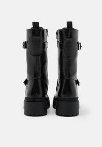Even&Odd - Platform boots - black - 2