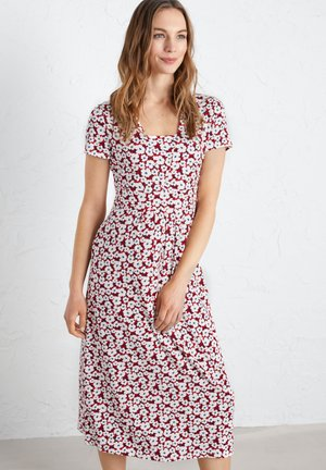 SEED PACKET - Day dress - red