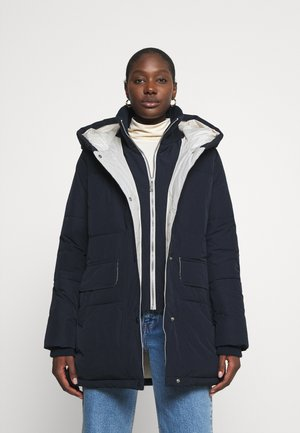LUXURY PUFFER - Wintermantel - sky captain blue