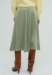 EDITED - ROCK MERCY - A-line skirt - grün - 2