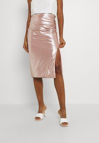 TFNC - JESSIE SKIRT - Pencil skirt - nude - 0
